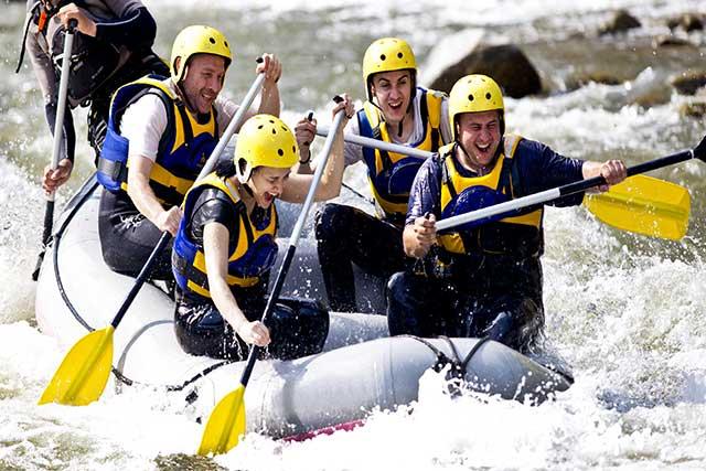 Sporthotel Oberwald, Schweiz, Rafting, Kanu fahren, Wassersport, Goms